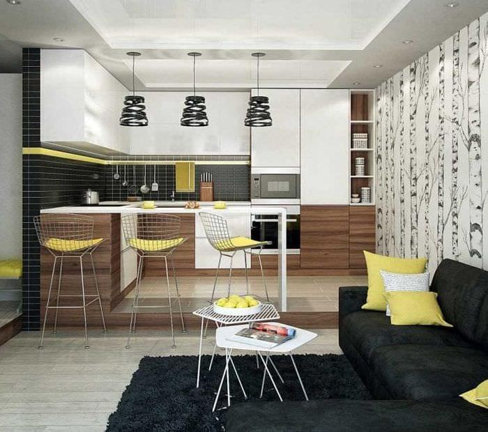 сочетание светлого серого в дизайне дома с другими цветами