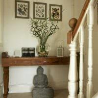 современный интерьер гостиной в восточном стиле фото