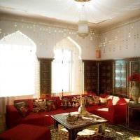 красивый дизайн квартиры в восточном стиле фото
