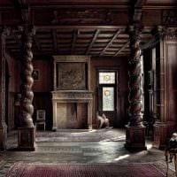 необычный стиль комнаты в готическом стиле картинка