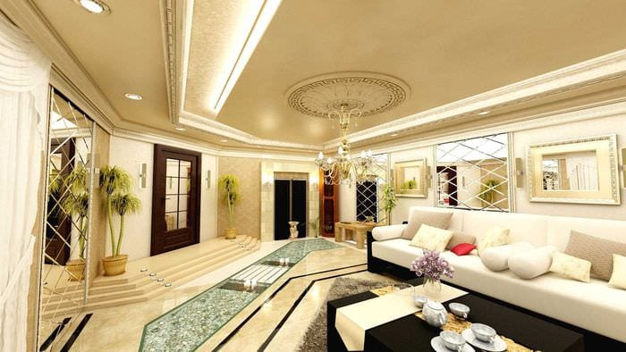 современный дизайн спальни в восточном стиле