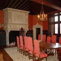 современный дизайн комнаты в готическом стиле картинка