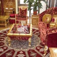 современный стиль спальни в восточном стиле картинка