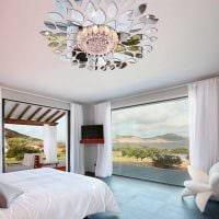 классическое украшение потолка принтом фото