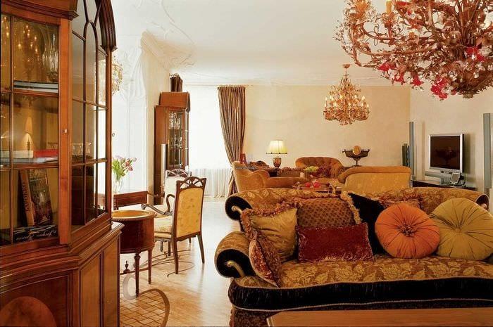 светлый дизайн спальни в стиле модерн