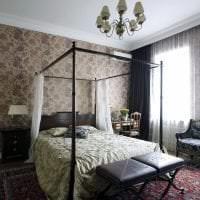 темный дизайн дома в викторианском стиле фото