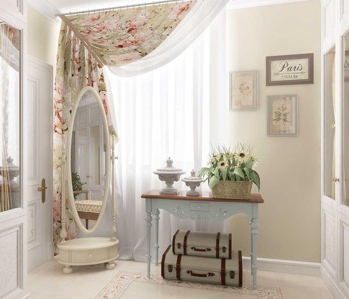 красивый декор гостиной в стиле прованс