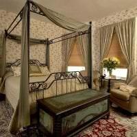 светлый декор гостиной в викторианском стиле фото