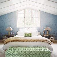 светлый декор гостиной в весеннем стиле фото