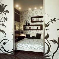 красивый декор спальной комнаты картинка