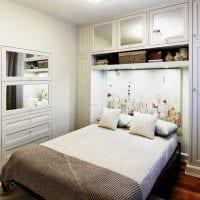 оригинальный дизайн спальной комнаты картинка