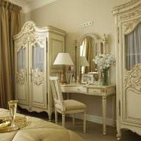 оригинальный интерьер гостиной в стиле ампир фото