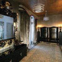 оригинальный интерьер гостиной в стиле ампир картинка