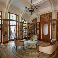 красивый интерьер дома в стиле модерн картинка