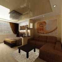оригинальный декор гостиной спальни фото