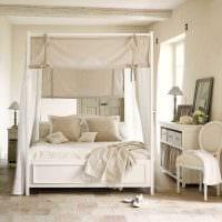 яркий декор комнаты в стиле прованс картинка