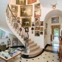 красивый интерьер спальни в викторианском стиле картинка