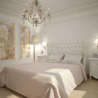 красивый интерьер спальной комнаты картинка