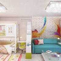 красивый интерьер гостиной спальни фото