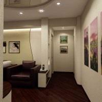 яркий стиль спальни гостиной картинка