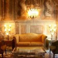 необычный интерьер комнаты в викторианском стиле картинка