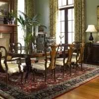 необычный декор гостиной в викторианском стиле картинка