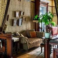 красивый интерьер комнаты в викторианском стиле фото