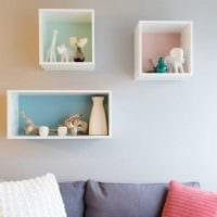идея красивого украшения гостиной комнаты своими руками фото