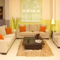 идея шикарного декорирования гостиной комнаты своими руками картинка