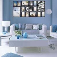 вариант яркого декорирования гостиной комнаты своими руками фото
