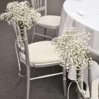 вариант яркого декора стульев своими руками картинка