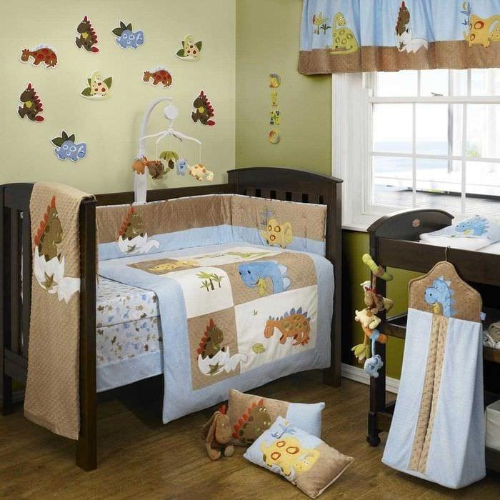идея шикарного украшения детской комнаты
