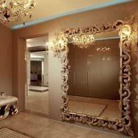 вариант оригинального украшения гостиной комнаты своими руками картинка