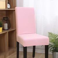 идея светлого декора стульев картинка