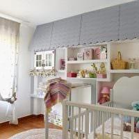вариант оригинального декора детской комнаты фото