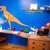 вариант красивого декора детской комнаты фото