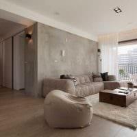 идея красивого декорирования гостиной комнаты своими руками фото