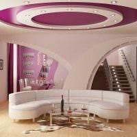 идея светлого декора гостиной комнаты своими руками картинка