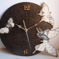 вариант оригинального украшения часов своими руками картинка