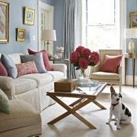 вариант красивого декорирования гостиной комнаты своими руками фото
