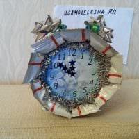 идея оригинального украшения часов своими руками фото