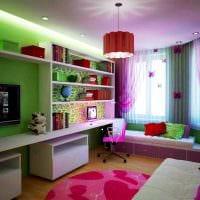 оригинальный декор спальни и гостиной в одной комнате картинка