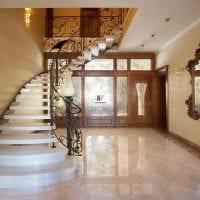 светлый интерьер квартиры в стиле модерн фото