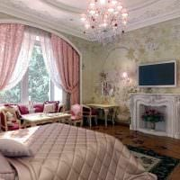 красивый декор комнаты в стиле прованс картинка