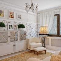 оригинальный интерьер спальни в стиле прованс фото