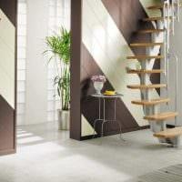 светлый декор квартиры со стеновыми панелями фото
