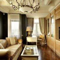 красивый декор спальни в стиле ампир фото