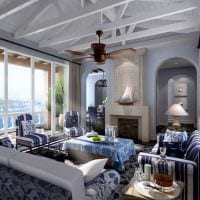 необычный декор квартиры в средиземноморском стиле картинка