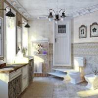 светлый декор квартиры в стиле прованс фото