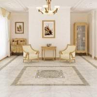 необычный интерьер квартиры в греческом стиле картинка